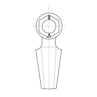 G-6422 line-drawings side