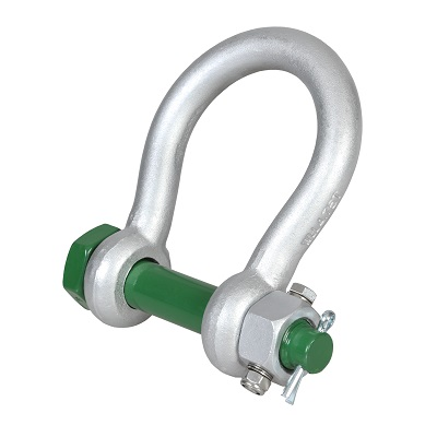 G-4243 Green Pin BigMouth Bow Shackle FN