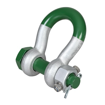 G-5243 Green Pin Super Bow Shackle FN