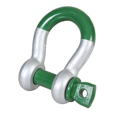G-5261 Green Pin Super Bow Shackle SC