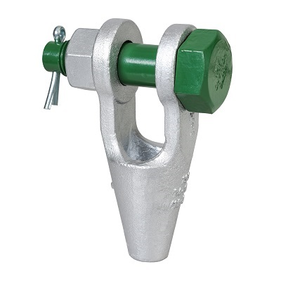 G-6422 Green Pin Open Spelter Socket BN
