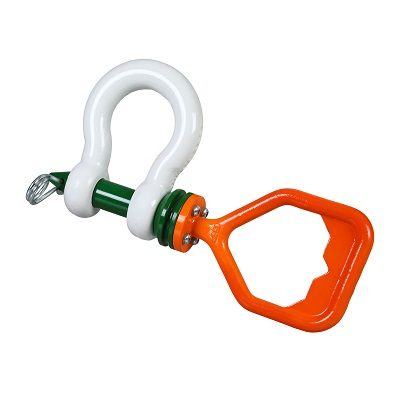 P-5361D Green Pin Tapered Pin ROV Shackle D (1)