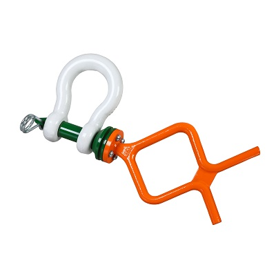 P-5361F Green Pin Tapered Pin ROV Shackle F (1)