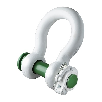 P-5365 Green Pin Locking Clamp ROV Shackle (5)